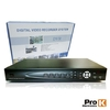 VÍDEO-GRAVADOR DIGITAL 8 CANAIS QUAD H264 ETHERNET PROK DVR08AK