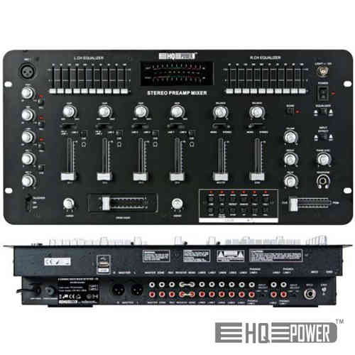 Mesa Mistura 4 Canais EQ+USB HQ POWER PROMIX400U